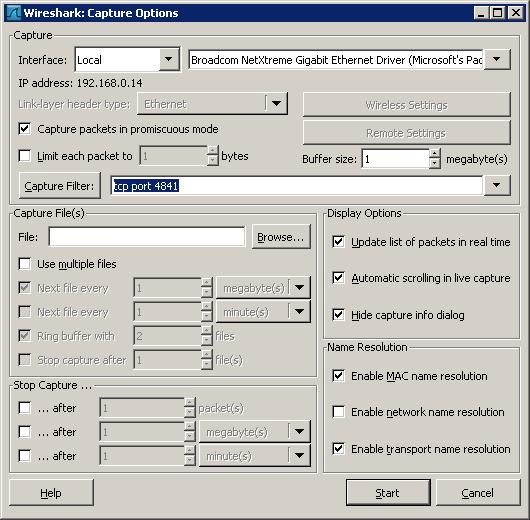 Opc ua network protocol analyzer - Wireshark filter destination port ...